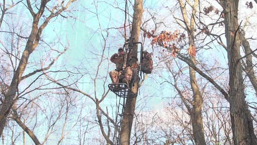 Guide Gear Extreme Comfort Hang On Tree Stand - image 9 from the video