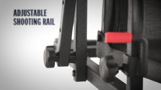 Bolderton Double Rail Deluxe 20' Ladder Tree Stand - image 4 from the video