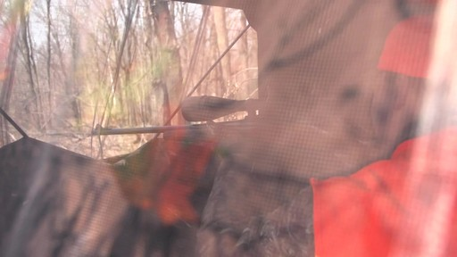 Guide Gear Silent Adrenaline Hunting Blind - image 6 from the video