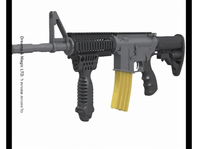 FAB Defense T-Pod Vertical Foregrip with Bipod - image 2 from the video