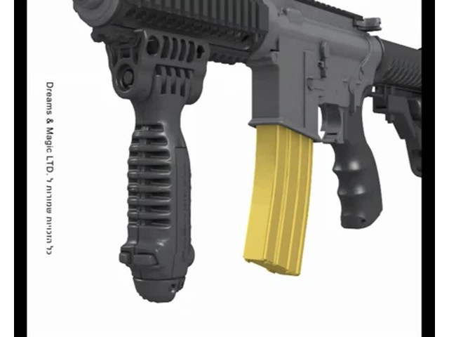 FAB Defense T-Pod Vertical Foregrip with Bipod - image 3 from the video
