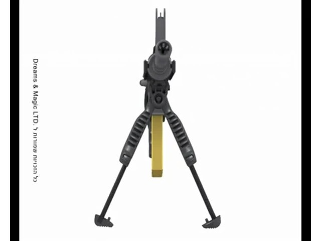 FAB Defense T-Pod Vertical Foregrip with Bipod - image 4 from the video