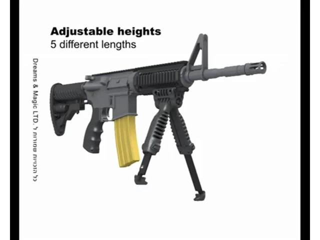 FAB Defense T-Pod Vertical Foregrip with Bipod - image 5 from the video