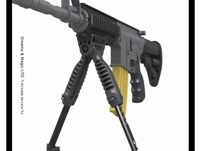 FAB Defense T-Pod Vertical Foregrip with Bipod - image 6 from the video