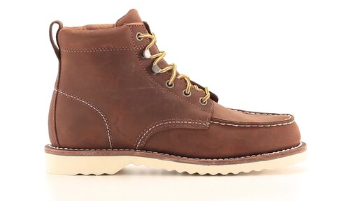 Guide Gear Men's Brutus Wedge Work Boots 360 View - image 1 from the video