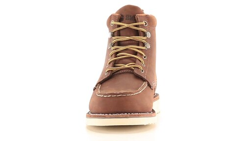 Guide Gear Men's Brutus Wedge Work Boots 360 View - image 4 from the video