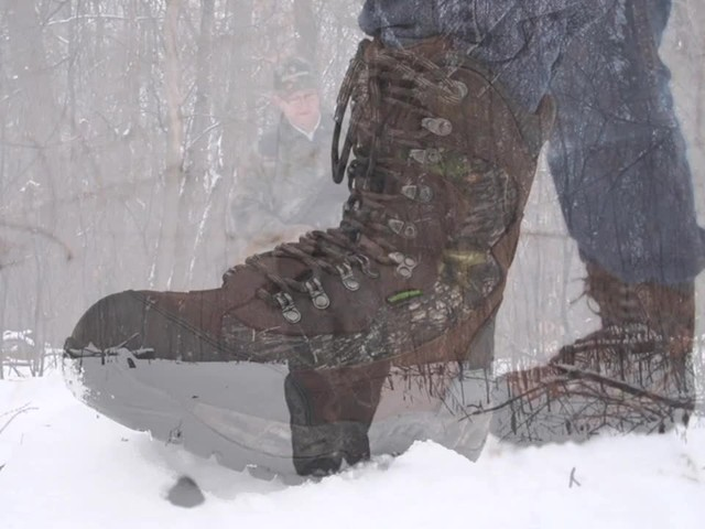 Guide Gear Artic Mens 2000 Gram Insulated Hunting Boots Waterproof Mossy Oak - image 1 from the video