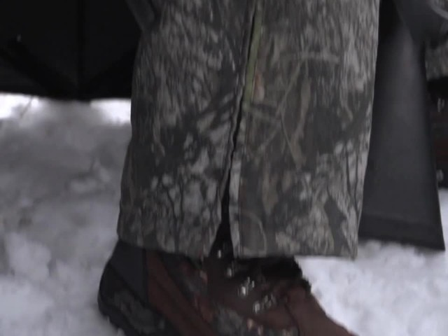 Guide Gear Artic Mens 2000 Gram Insulated Hunting Boots Waterproof Mossy Oak - image 7 from the video