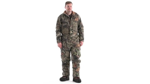 Guide Gear Men's Insulated Silent Adrenaline Hunting Coveralls 360 View - image 1 from the video
