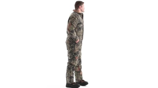 Guide Gear Men's Insulated Silent Adrenaline Hunting Coveralls 360 View - image 3 from the video