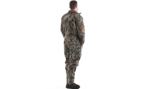 Guide Gear Men's Insulated Silent Adrenaline Hunting Coveralls 360 View - image 4 from the video