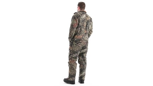 Guide Gear Men's Insulated Silent Adrenaline Hunting Coveralls 360 View - image 6 from the video