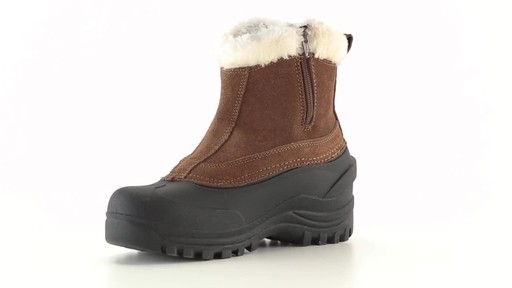 Guide Gear Women's Insulated Side Zip Winter Boots 600 Gram 360 View - image 1 from the video