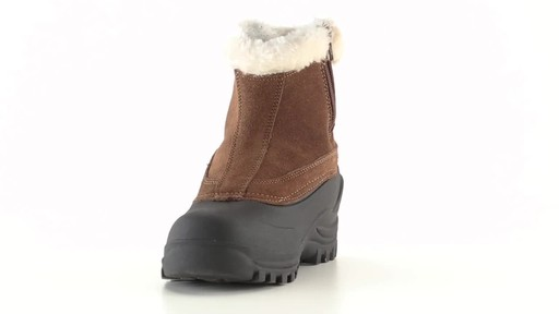 Guide Gear Women's Insulated Side Zip Winter Boots 600 Gram 360 View - image 2 from the video