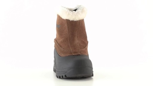 Guide Gear Women's Insulated Side Zip Winter Boots 600 Gram 360 View - image 3 from the video