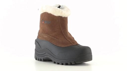 Guide Gear Women's Insulated Side Zip Winter Boots 600 Gram 360 View - image 4 from the video