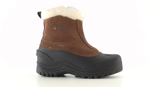 Guide Gear Women's Insulated Side Zip Winter Boots 600 Gram 360 View - image 5 from the video