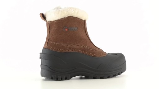 Guide Gear Women's Insulated Side Zip Winter Boots 600 Gram 360 View - image 6 from the video