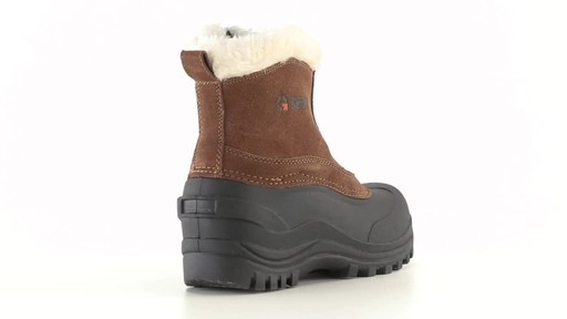 Guide Gear Women's Insulated Side Zip Winter Boots 600 Gram 360 View - image 7 from the video