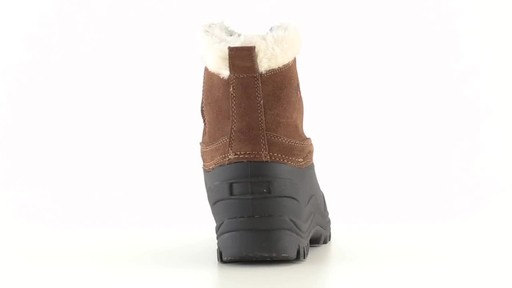 Guide Gear Women's Insulated Side Zip Winter Boots 600 Gram 360 View - image 8 from the video