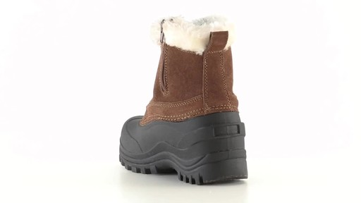 Guide Gear Women's Insulated Side Zip Winter Boots 600 Gram 360 View - image 9 from the video