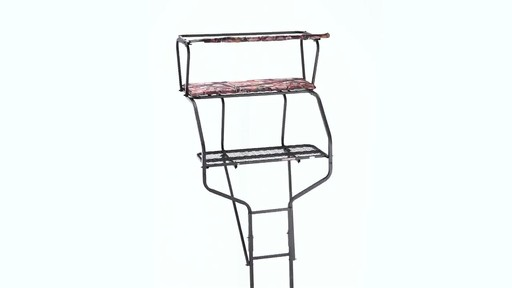 Guide Gear 18' Deluxe 2-Man Ladder Tree Stand 360 View - image 1 from the video