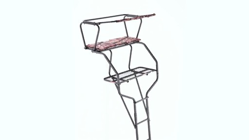 Guide Gear 18' Deluxe 2-Man Ladder Tree Stand 360 View - image 2 from the video