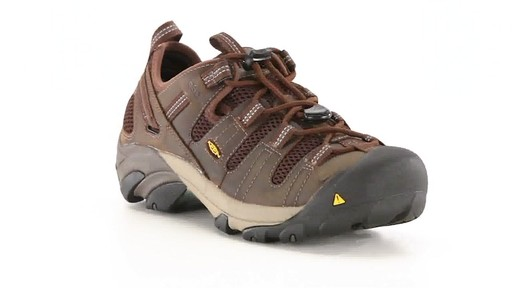 KEEN Utility Men's Atlanta Cool ESD Soft Toe Work Shoes 360 View - image 1 from the video