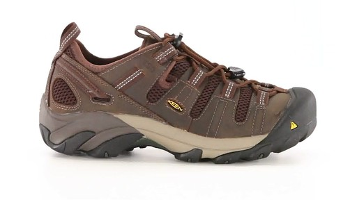 KEEN Utility Men's Atlanta Cool ESD Soft Toe Work Shoes 360 View - image 10 from the video