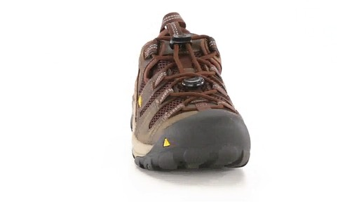 KEEN Utility Men's Atlanta Cool ESD Soft Toe Work Shoes 360 View - image 2 from the video