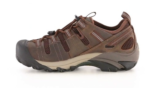 KEEN Utility Men's Atlanta Cool ESD Soft Toe Work Shoes 360 View - image 5 from the video