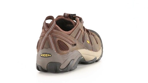 KEEN Utility Men's Atlanta Cool ESD Soft Toe Work Shoes 360 View - image 8 from the video