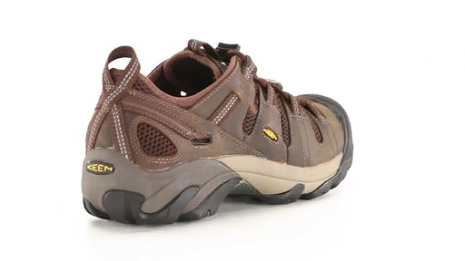 KEEN Utility Men's Atlanta Cool ESD Soft Toe Work Shoes 360 View - image 9 from the video