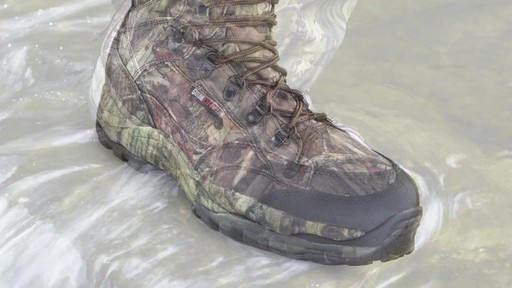 Guide Gear Guidelight II Men's Hunting Boots 400 Gram Thinsulate Mossy Oak Camo - image 1 from the video