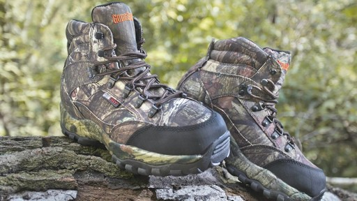 Guide Gear Guidelight II Men's Hunting Boots 400 Gram Thinsulate Mossy Oak Camo - image 10 from the video