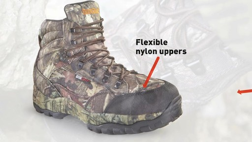 Guide Gear Guidelight II Men's Hunting Boots 400 Gram Thinsulate Mossy Oak Camo - image 4 from the video