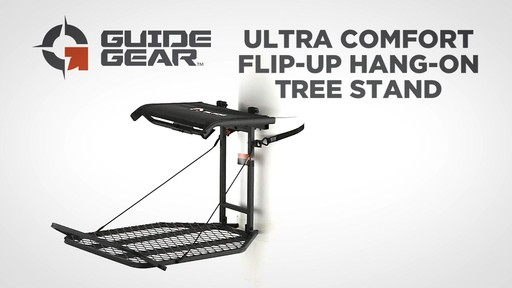 Guide Gear Ultra Comfort Flip-Up Hang-On Tree Stand - image 1 from the video
