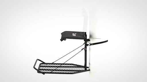 Guide Gear Ultra Comfort Flip-Up Hang-On Tree Stand - image 7 from the video