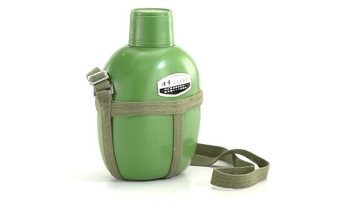 Chinese Military Surplus PLA Canteen Flask 360 View - image 4 from the video