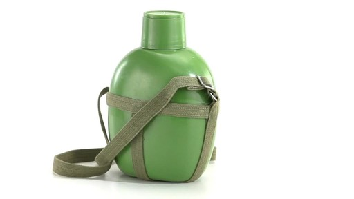 Chinese Military Surplus PLA Canteen Flask 360 View - image 7 from the video