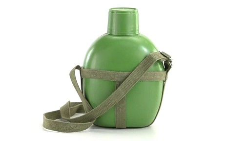 Chinese Military Surplus PLA Canteen Flask 360 View - image 8 from the video