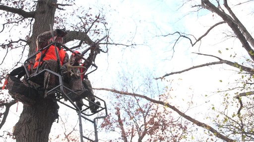 Guide Gear 18' Deluxe 2-man Ladder Tree Stand - image 1 from the video