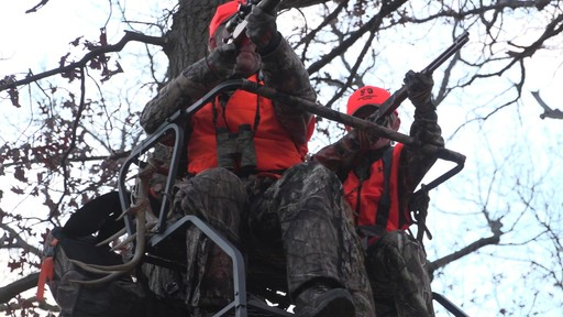 Guide Gear 18' Deluxe 2-man Ladder Tree Stand - image 2 from the video