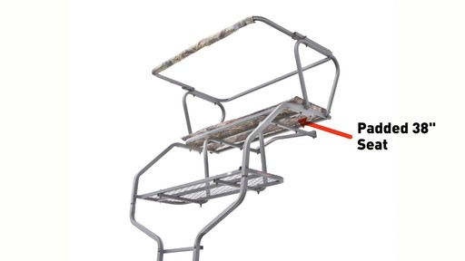 Guide Gear 18' Deluxe 2-man Ladder Tree Stand - image 3 from the video