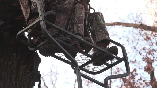 Guide Gear 18' Deluxe 2-man Ladder Tree Stand - image 5 from the video