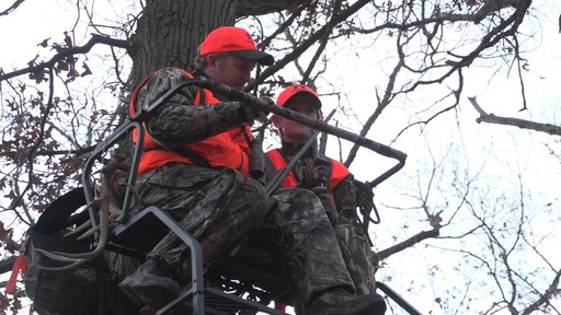 Guide Gear 18' Deluxe 2-man Ladder Tree Stand - image 7 from the video