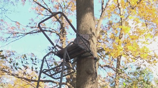 Guide Gear 16' Deluxe Ladder Tree Stand - image 10 from the video