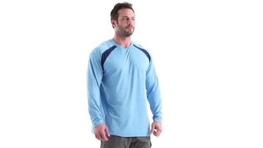 Guide Gear Men's Performance Fishing Long Sleeve Shirt 360 View - image 1 from the video