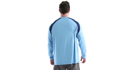 Guide Gear Men's Performance Fishing Long Sleeve Shirt 360 View - image 4 from the video