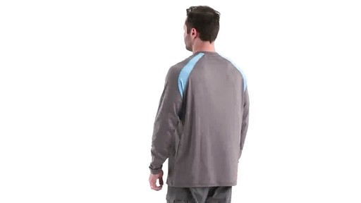 Guide Gear Men's Performance Fishing Long Sleeve Shirt 360 View - image 5 from the video